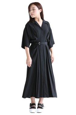 ELENDEEK(エレンディーク) DRESS SHIRT OP  BLK