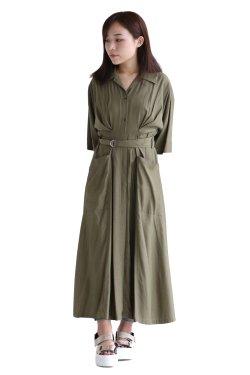 ELENDEEK(エレンディーク) DRESS SHIRT OP  KHK