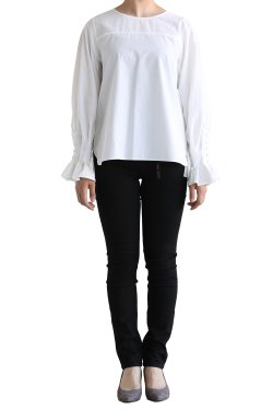 SIWALY(シワリー) フライフロントビッグシャツ