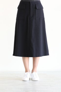 MUVEIL(ミュベール) スリットレーススカート