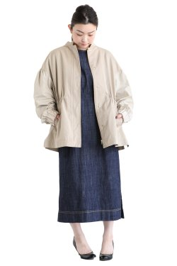 MUVEIL(ミュベール) バックレースアップジャケット