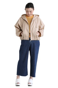 Ballsey(ボールジィ) COTTON PEACH CLOTH フーディブルゾン