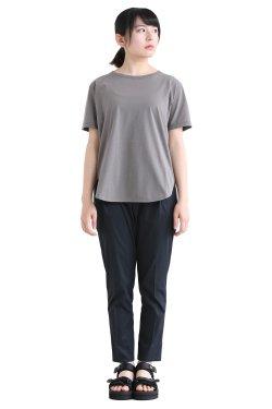 SIWALY(シワリー) ハーフスリーブTシャツ  gray