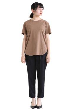 SIWALY(シワリー) ハーフスリーブTシャツ  brown