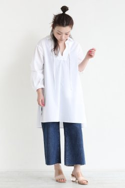 theory luxe(セオリーリュクス) Extra Light Poplin Jolli  WHITE