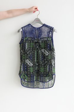 Mame Kurogouchi(マメ) Stained Glass Printed Top
