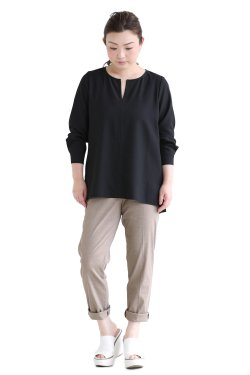 Theory(セオリー) Shallow GGT Slit Front BL  BLACK