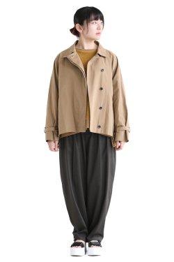 SIWALY(シワリー) trench jacket