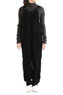 unfil(アンフィル) turfan cotton-corduroy overalls
