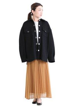 MUVEIL(ミュベール) ウールジャケット black