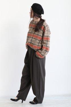 unfil(アンフィル) cashmere knit beret  black