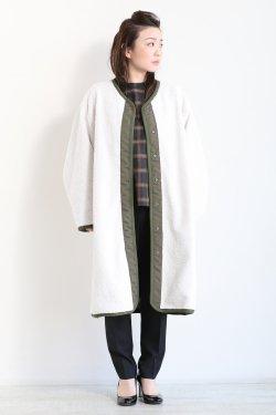 SIWALY(シワリー) reversible coat  khaki