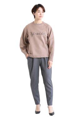 MOOLA(モーラ) needle sweat pullover