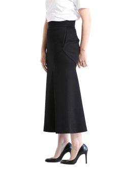 Mame Kurogouchi(マメ) Double Face Jersey Flared Skirt