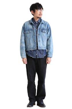 unfil(アンフィル) 【MENS】12oz cotton denim jacket