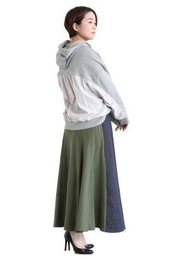 MOOLA KALAH(モーラカーラ) Hood Sweat Pullover  gray