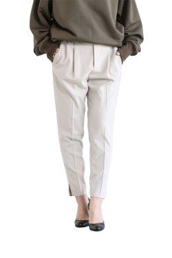 SIWALY(シワリー) Tucked Easy Pants  beige