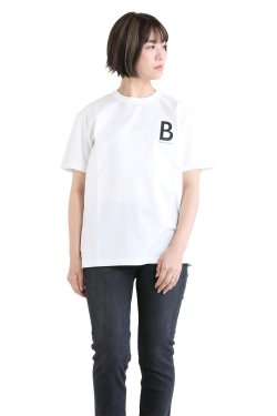 BORDERS at BALCONY(ボーダーズアットバルコニー) BORDERS T  WHITE