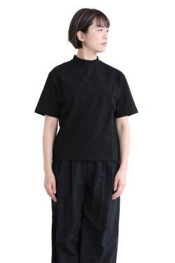 SONO(ソーノ) ハイネックスクエアTシャツ BLACK