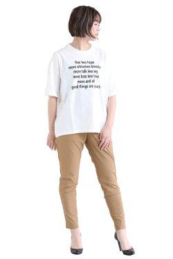 <img class='new_mark_img1' src='https://img.shop-pro.jp/img/new/icons20.gif' style='border:none;display:inline;margin:0px;padding:0px;width:auto;' />MOOLA KALAH(モーラカーラ) Lettered T-shirt  white