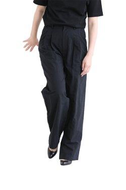 SIWALY(シワリー) Tucked Wide Pants