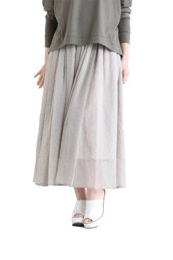 SIWALY(シワリー) Sheer Gather Skirt