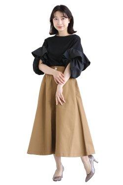 araara(アラアラ) Frill Sleeve Pullover
