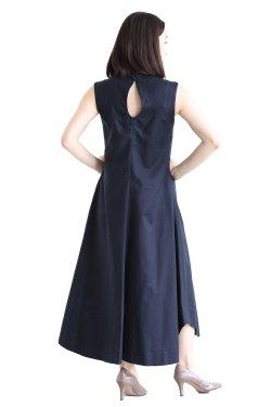 Mame Kurogouchi(マメ) Cotton Double Cloth Sleeveless Dress