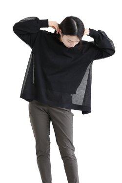 araara(アラアラ) Sheer Layered Knit