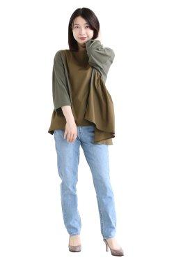MOOLA KALAH(モーラカーラ) Aline asymmetry pullover