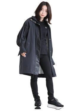 Mame Kurogouchi(マメ) Water Repellent Nylon Hooded Coat