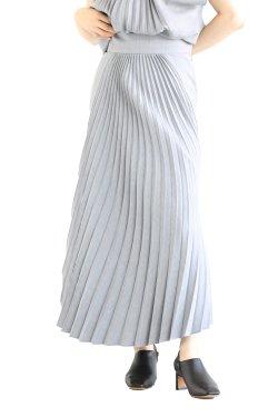 Mame Kurogouchi(マメ) Curved Pleated Skirt