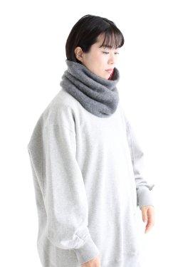 unfil(アンフィル) cashmere neck warmer  grey