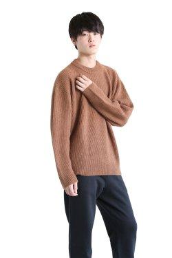 unfil(アンフィル) 【UNISEX】royal baby alpaca sweater