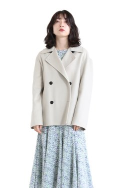 Theory(セオリー) LUXE NEW DIVIDE CASUAL PEACOAT B  PALE SAND