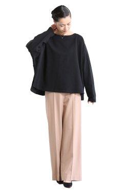 MOOLA KALAH(モーラカーラ) Combination Sweat Pullover  black