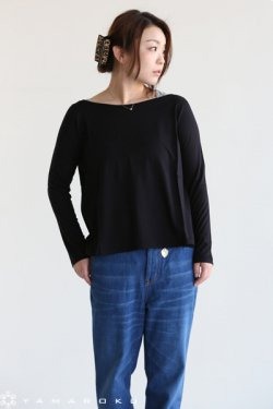 Bilitis dix-sept ans(ビリティス)Jersey Stich T Shirt(Long)Black