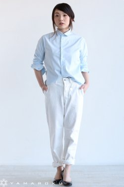 INDIVIDUALIZED SHIRTS(インディヴィジュアライズドシャツ) JAN SHIRTS Pima Broad【A48BBO-D】 Blue