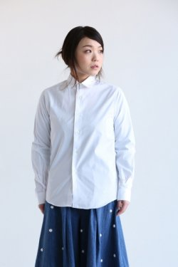 INDIVIDUALIZED SHIRTS(インディヴィジュアライズドシャツ) JAN SHIRTS Pima Broad【A68WBO-D】 White