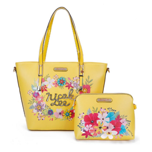 nicole leeトートバッグ / YELLOW<img class='new_mark_img2' src='https://img.shop-pro.jp/img/new/icons15.gif' style='border:none;display:inline;margin:0px;padding:0px;width:auto;' />