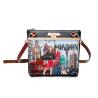 nicole lee クロスボディバッグ / WOW! IT'S LONDON<img class='new_mark_img2' src='https://img.shop-pro.jp/img/new/icons15.gif' style='border:none;display:inline;margin:0px;padding:0px;width:auto;' />