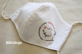 ●日本製●抗菌・抗ウイルス機能繊維加工【クレンゼ】マスク FOR SCHNAUZER LOVERS