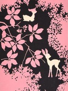 RumiRockゆかた「記憶の森のバンビ」