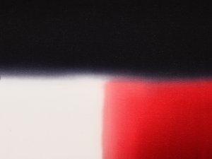 帯揚 正絹三色ぼかし「丹頂鶴」