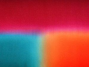 帯揚 正絹三色ぼかし「ハミングバード」