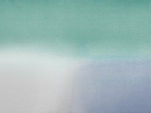 帯揚 正絹三色ぼかし「北極」