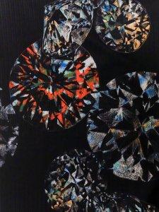 Rumi Rockきもの「ダイヤモンド」カラー