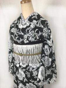 【即納】仕立て上がり「小石川薬圓」   レディス M 単衣