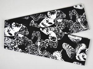 Rumi Rock木綿半幅帯「群蝶」
