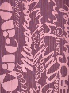 Rumi Rock木綿きもの 「スイーツ」ピンク